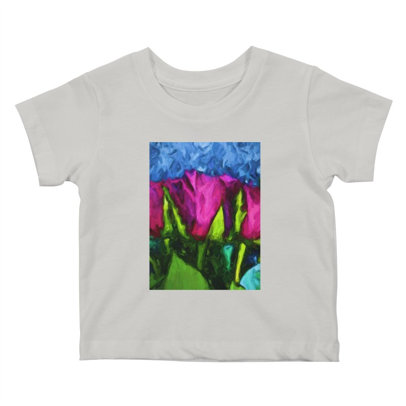 Lovers' Roses 1 Kids Baby T-Shirt by jackievano's Artist Shop
