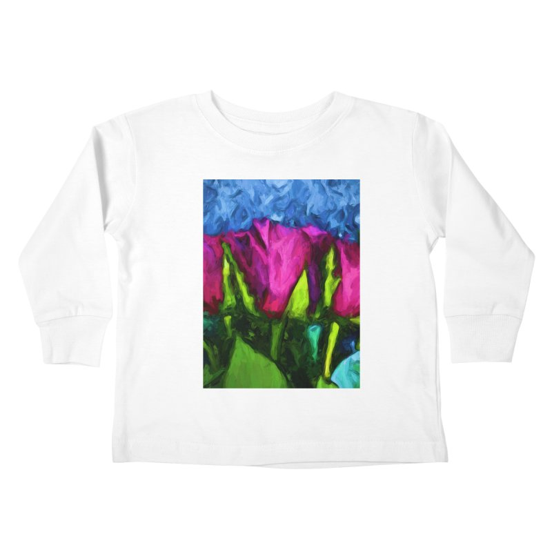 Lovers' Roses 1 Kids Toddler Longsleeve T-Shirt by jackievano's Artist Shop