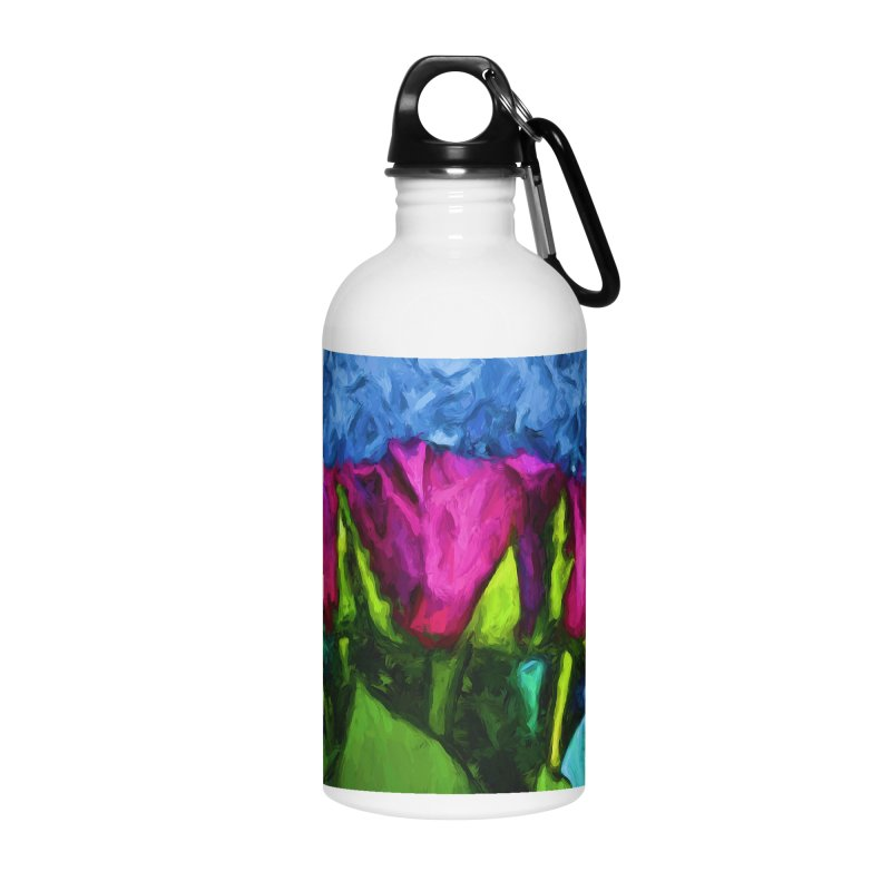 Lovers' Roses 1 Accessories Water Bottle by jackievano's Artist Shop