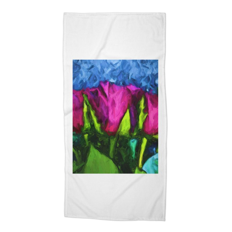 Lovers' Roses 1 Accessories Beach Towel by jackievano's Artist Shop