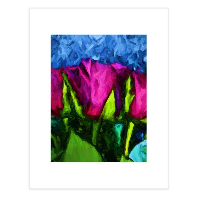 Lovers' Roses 1 Home Fine Art Print by jackievano's Artist Shop
