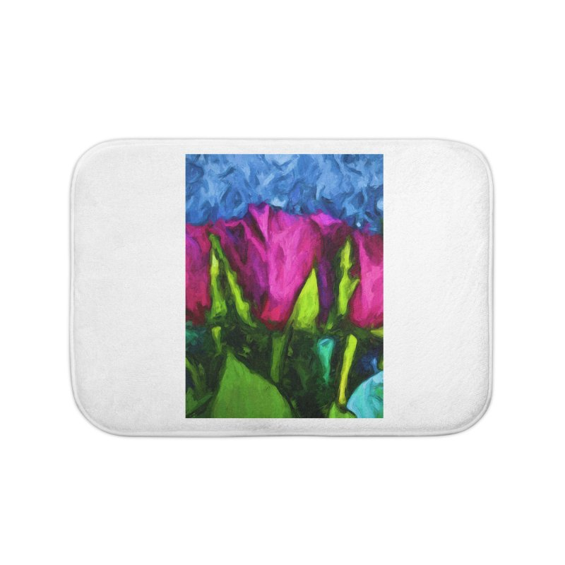 Lovers' Roses 1 Home Bath Mat by jackievano's Artist Shop