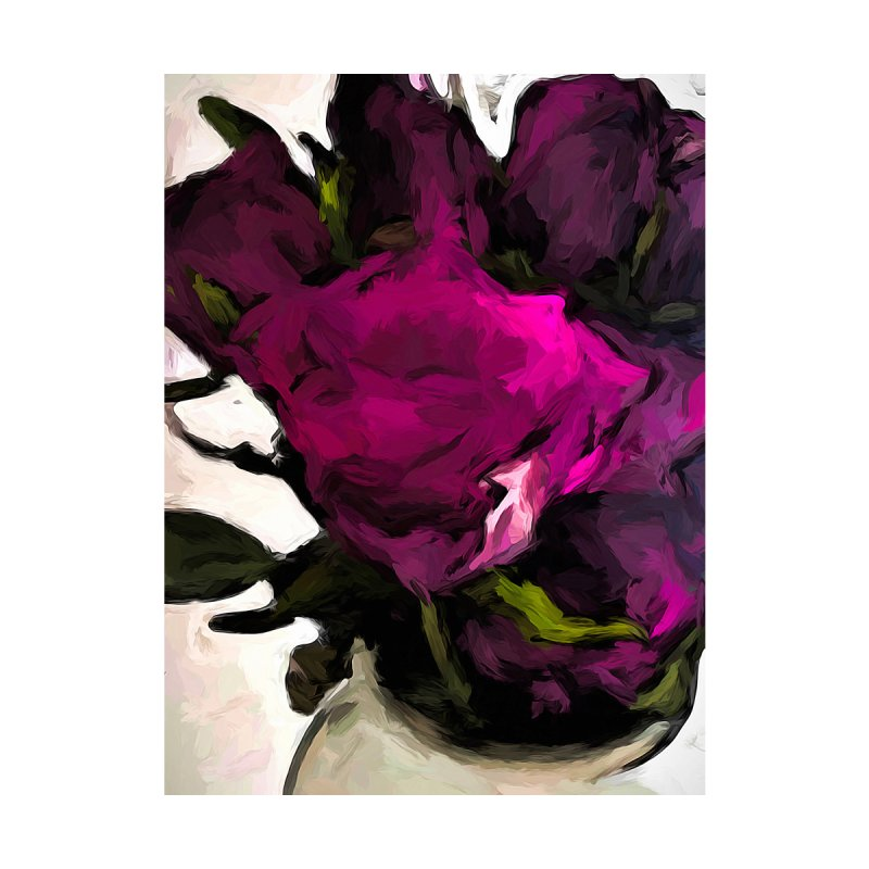 Vase of Roses with Shadows 2 by jackievano's Artist Shop