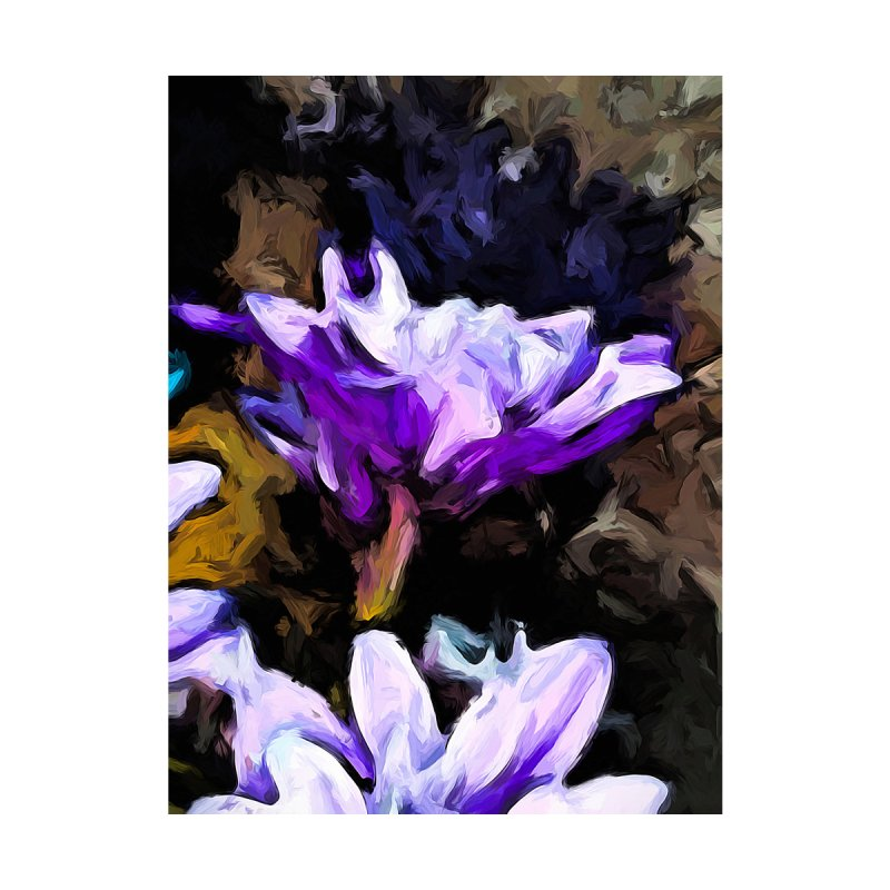 Flowers of Lavender and White with Reflection by jackievano's Artist Shop