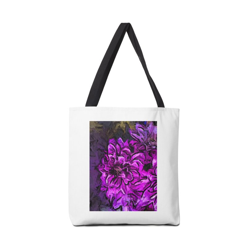 The Scream of the Pink Flower Accessories Bag by jackievano's Artist Shop