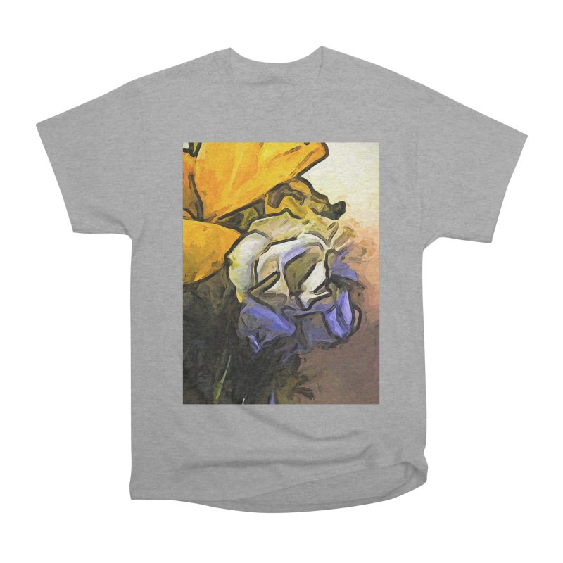 The White Rose and the Yellow Petals Women's Classic Unisex T-Shirt by jackievano's Artist Shop