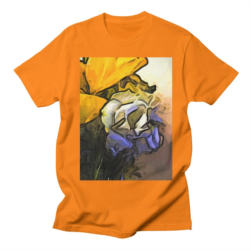 The White Rose and the Yellow Petals Women's Unisex T-Shirt by jackievano's Artist Shop