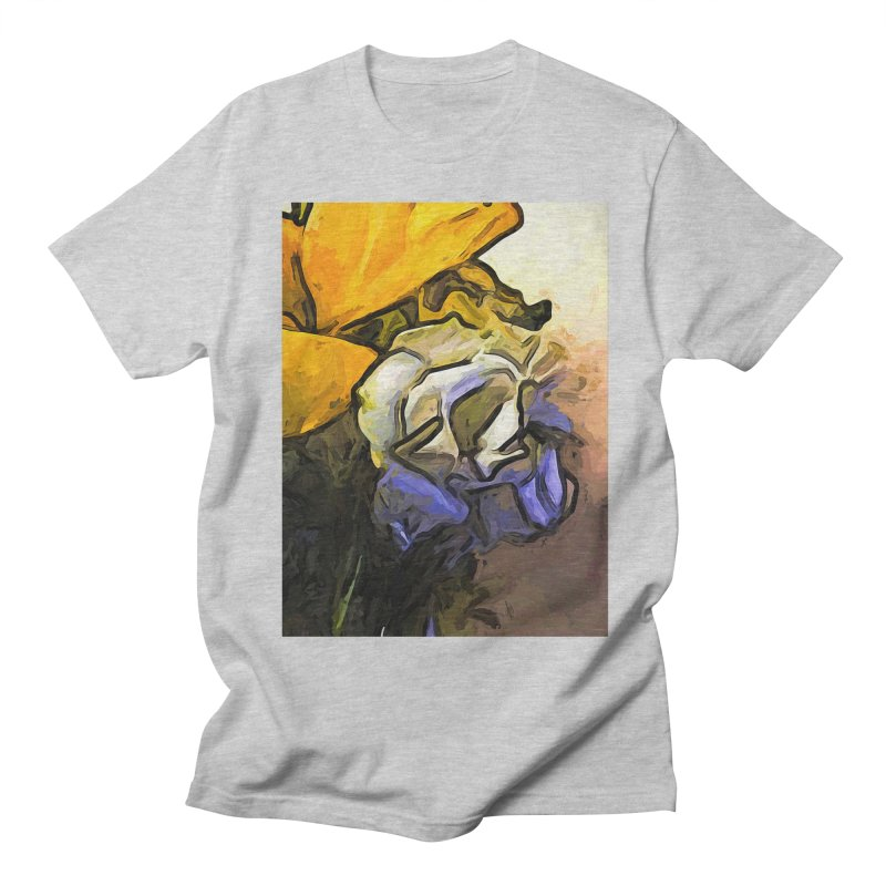The White Rose and the Yellow Petals Men's T-Shirt by jackievano's Artist Shop