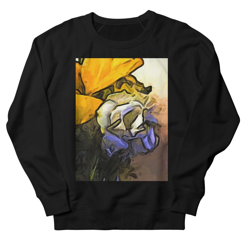The White Rose and the Yellow Petals Women's Sweatshirt by jackievano's Artist Shop
