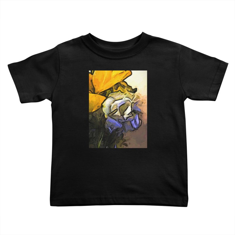 The White Rose and the Yellow Petals Kids Toddler T-Shirt by jackievano's Artist Shop