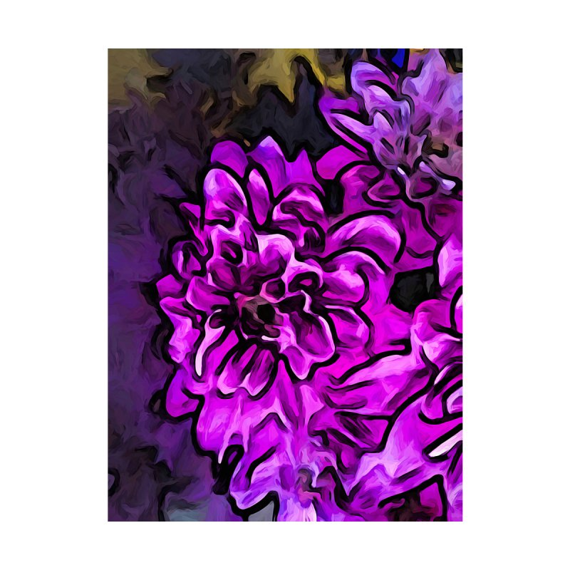 The Screaming Pink and Lavender Flower by jackievano's Artist Shop