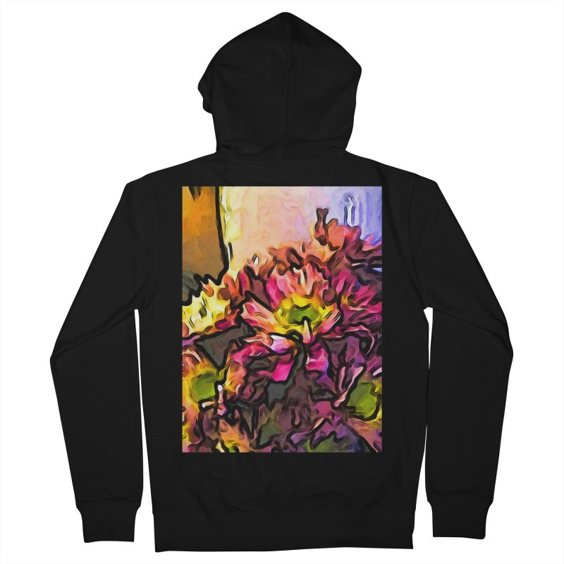 The Pink Flowers for the Right Women's Zip-Up Hoody by jackievano's Artist Shop