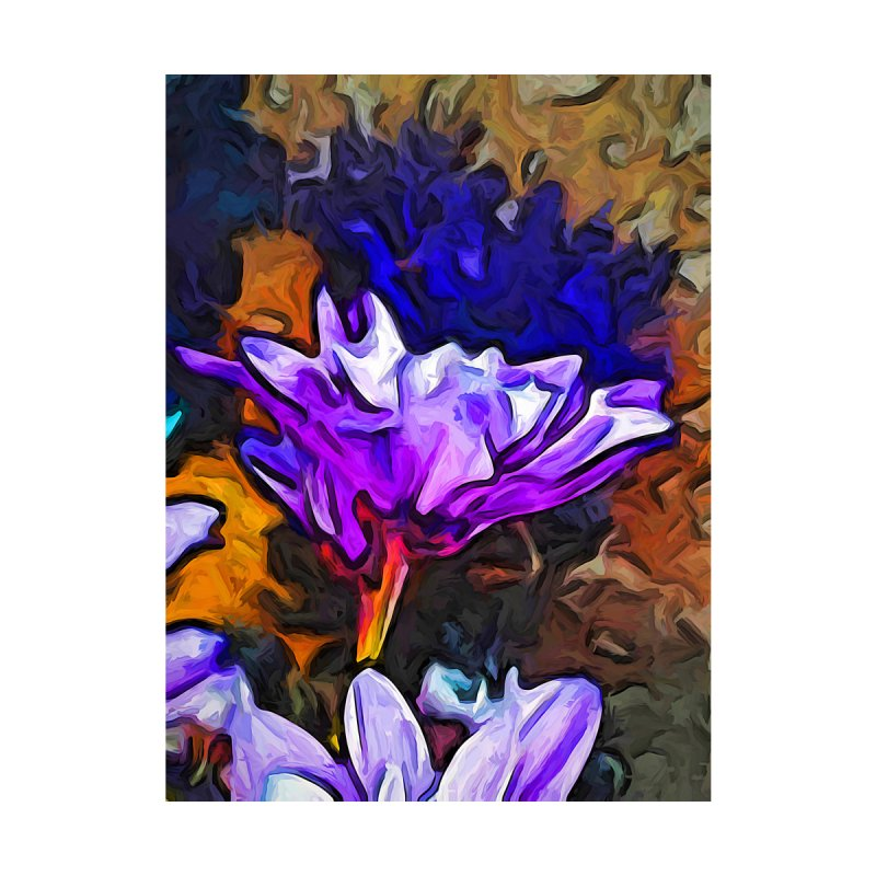 The Lavender Flower with the Blue Smoke by jackievano's Artist Shop