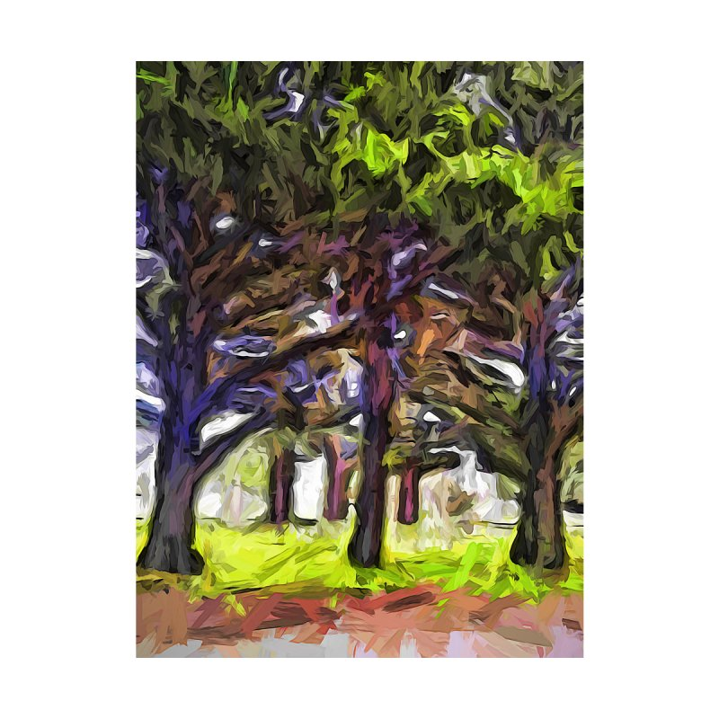 The Leaning Trees of Purple by jackievano's Artist Shop