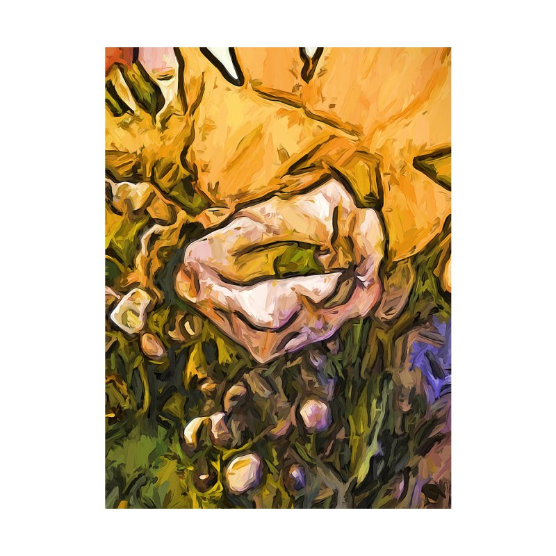 The Eye of the White Rose by jackievano's Artist Shop