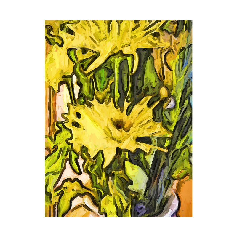 The Rhapsody of the Yellow Flowers by jackievano's Artist Shop