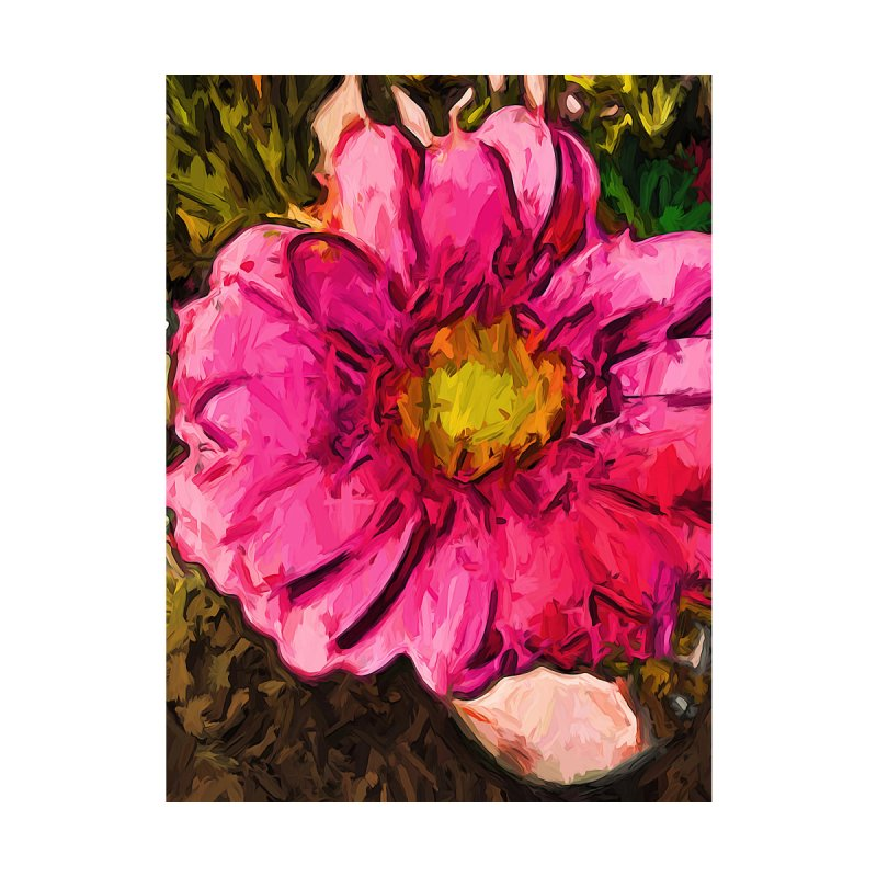 The Euphoria of the Pink and Yellow Flower by jackievano's Artist Shop