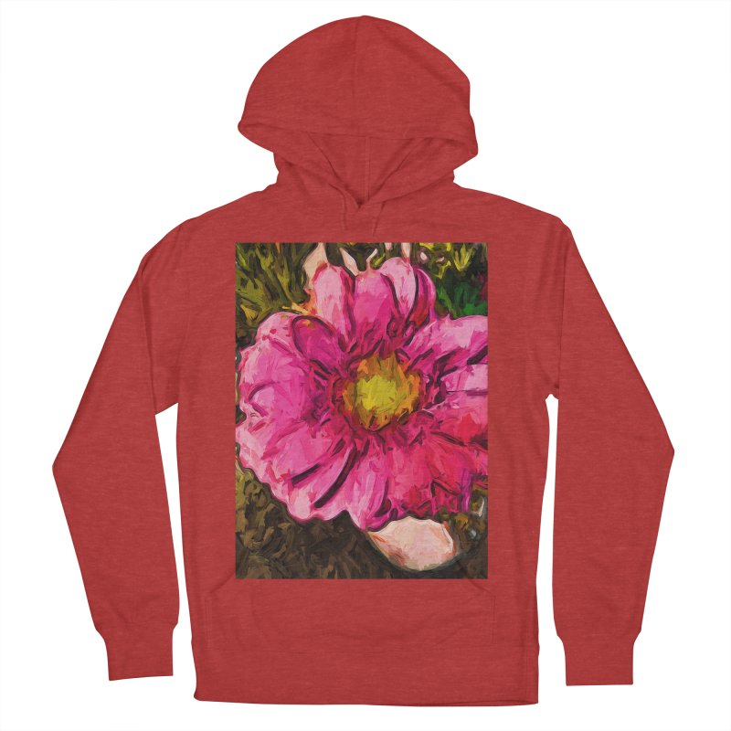 The Euphoria of the Pink and Yellow Flower Women's Pullover Hoody by jackievano's Artist Shop