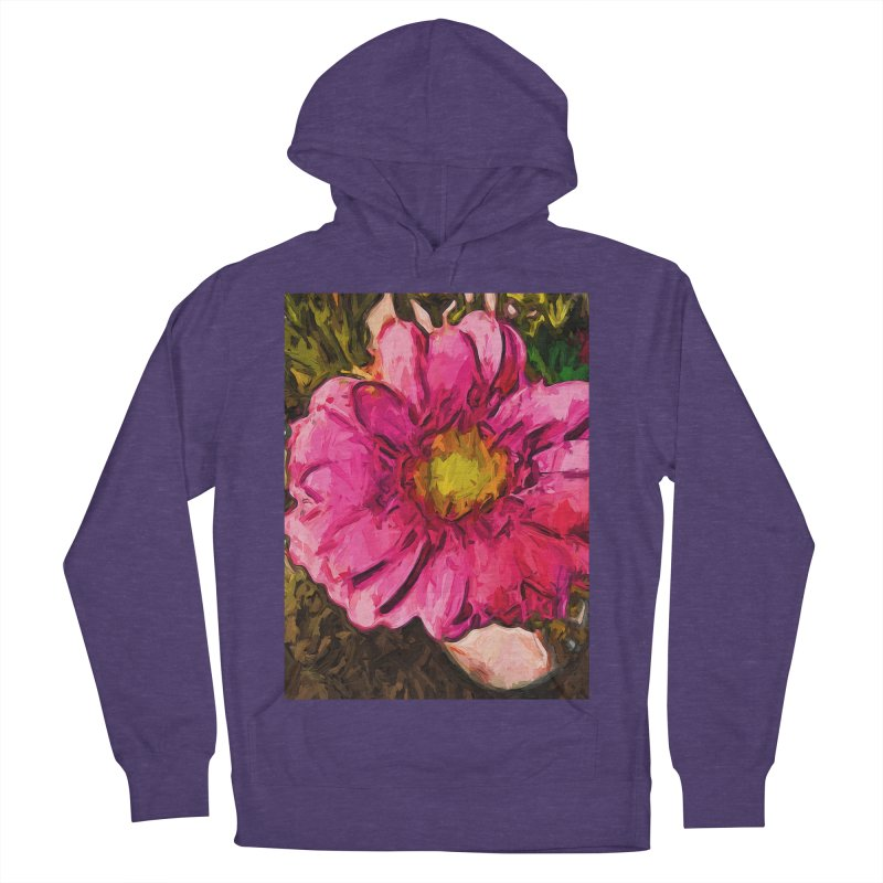 The Euphoria of the Pink and Yellow Flower Men's Pullover Hoody by jackievano's Artist Shop