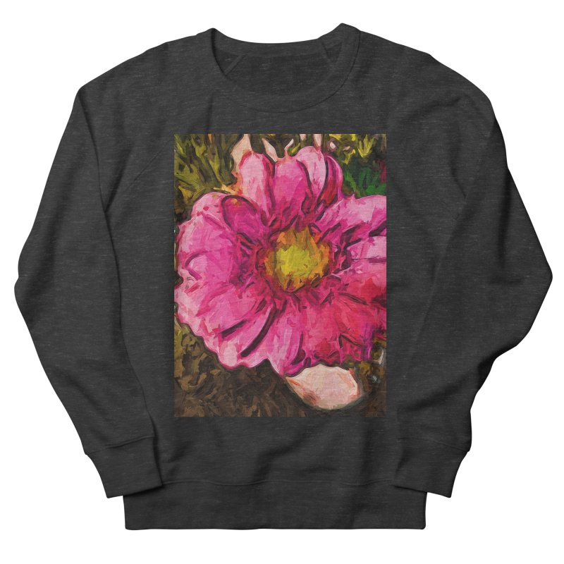 The Euphoria of the Pink and Yellow Flower Women's Sweatshirt by jackievano's Artist Shop