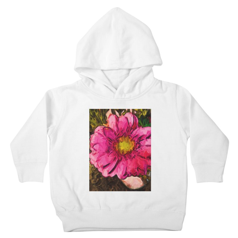 The Euphoria of the Pink and Yellow Flower Kids Toddler Pullover Hoody by jackievano's Artist Shop
