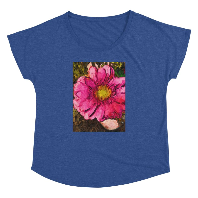 The Euphoria of the Pink and Yellow Flower Women's Dolman by jackievano's Artist Shop