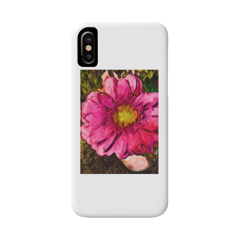 The Euphoria of the Pink and Yellow Flower Accessories Phone Case by jackievano's Artist Shop