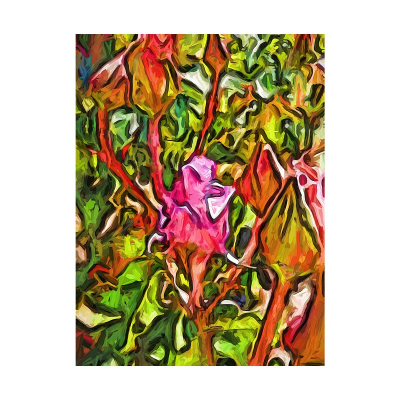The Radiant Love of the Pink Rosebud by jackievano's Artist Shop