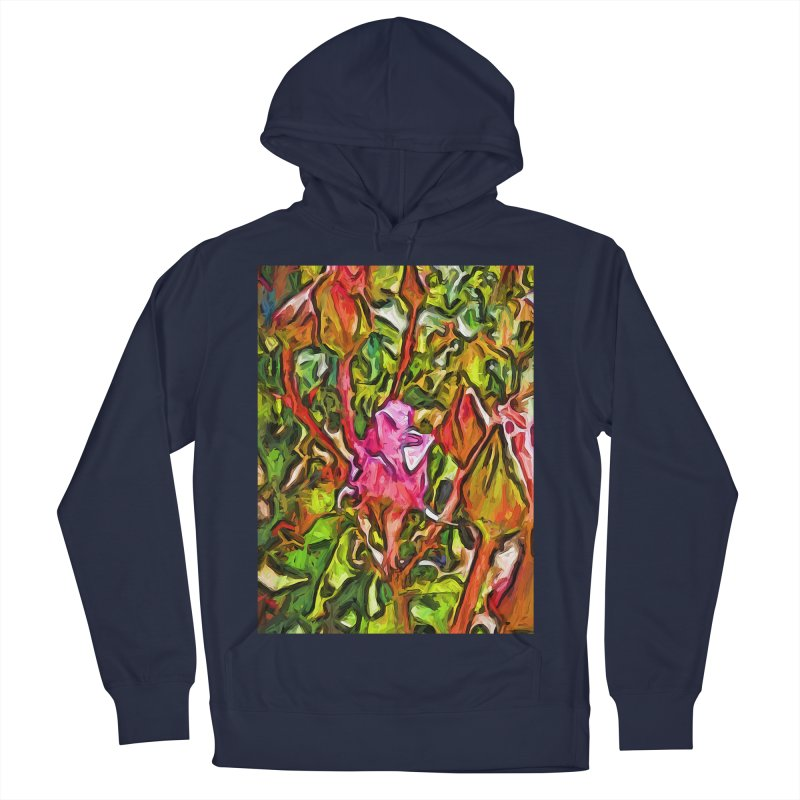 The Radiant Love of the Pink Rosebud Men's Pullover Hoody by jackievano's Artist Shop
