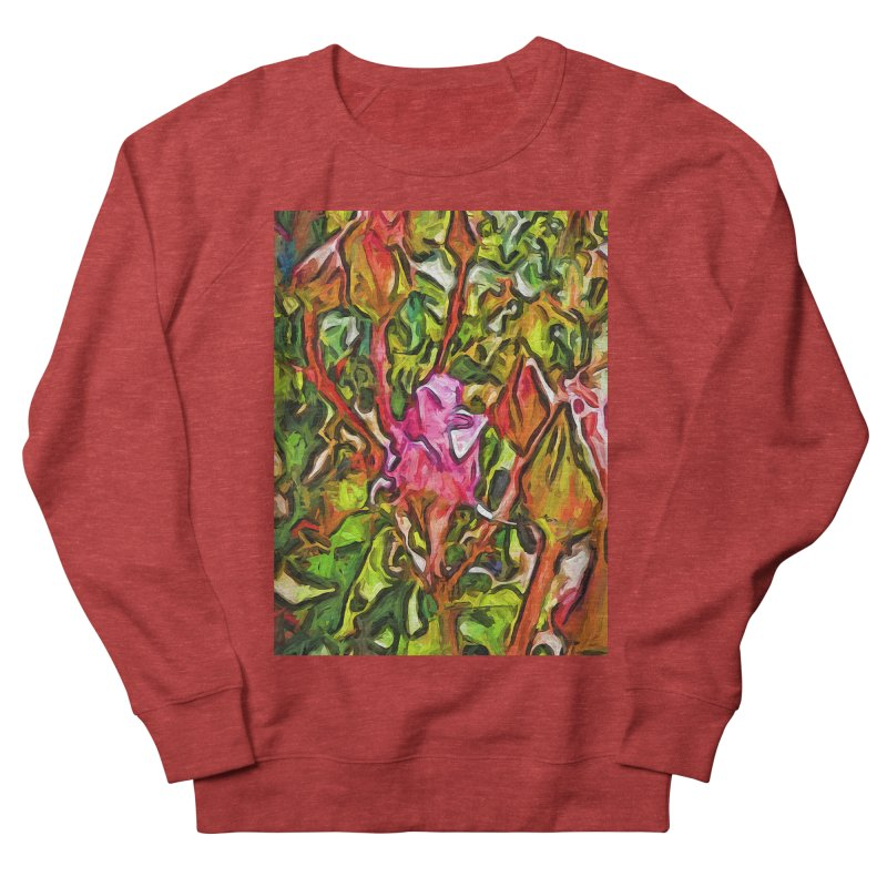 The Radiant Love of the Pink Rosebud Women's Sweatshirt by jackievano's Artist Shop