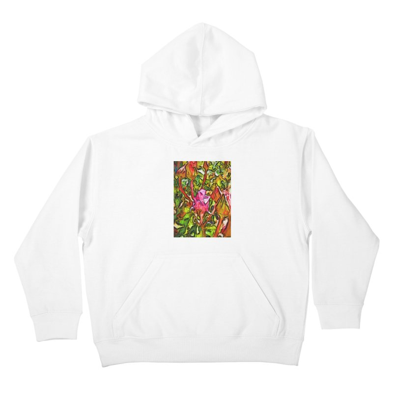 The Radiant Love of the Pink Rosebud Kids Pullover Hoody by jackievano's Artist Shop