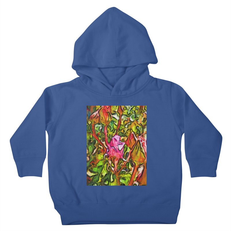 The Radiant Love of the Pink Rosebud Kids Toddler Pullover Hoody by jackievano's Artist Shop