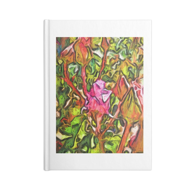 The Radiant Love of the Pink Rosebud Accessories Notebook by jackievano's Artist Shop