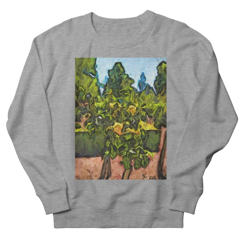The Yellow Roses and the Green Trees Women's Sweatshirt by jackievano's Artist Shop
