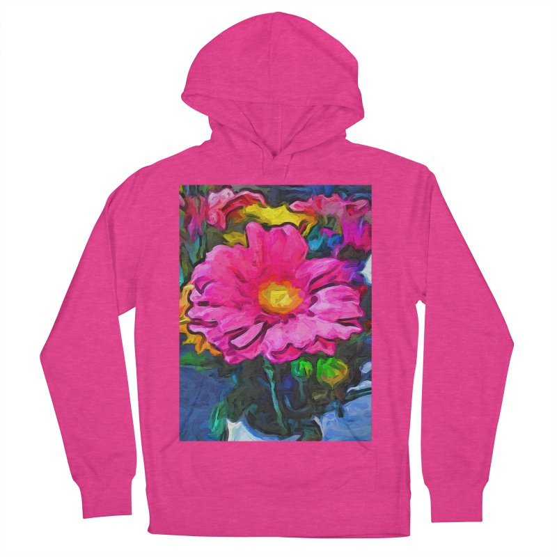 The Pink and Yellow Flower Women's Pullover Hoody by jackievano's Artist Shop