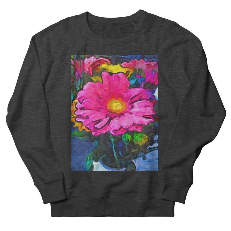 The Pink and Yellow Flower Women's Sweatshirt by jackievano's Artist Shop