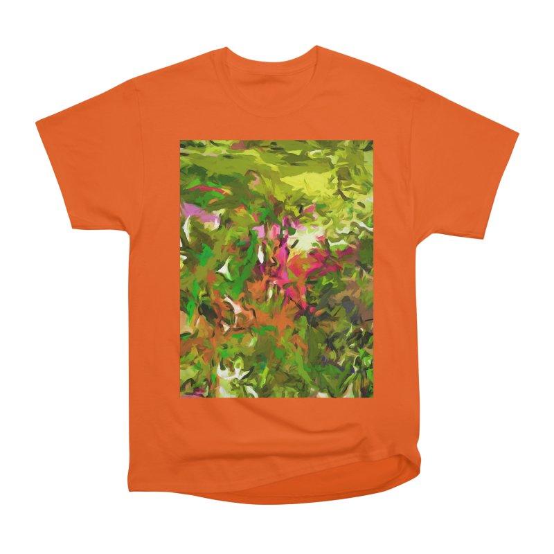 The Rosebud Men's Heavyweight T-Shirt by jackievano's Artist Shop