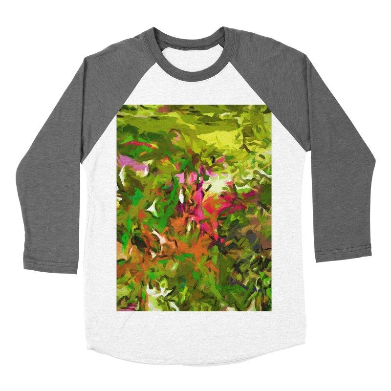 The Rosebud Women's Baseball Triblend T-Shirt by jackievano's Artist Shop