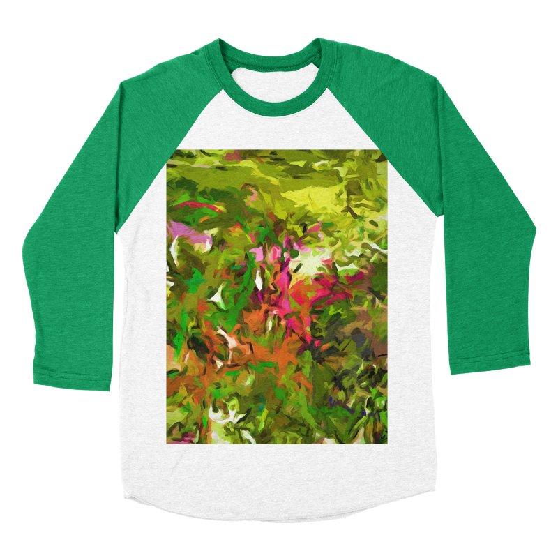 The Rosebud Men's Baseball Triblend T-Shirt by jackievano's Artist Shop