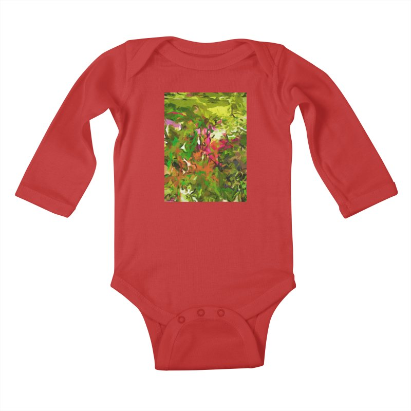 The Rosebud Kids Baby Longsleeve Bodysuit by jackievano's Artist Shop