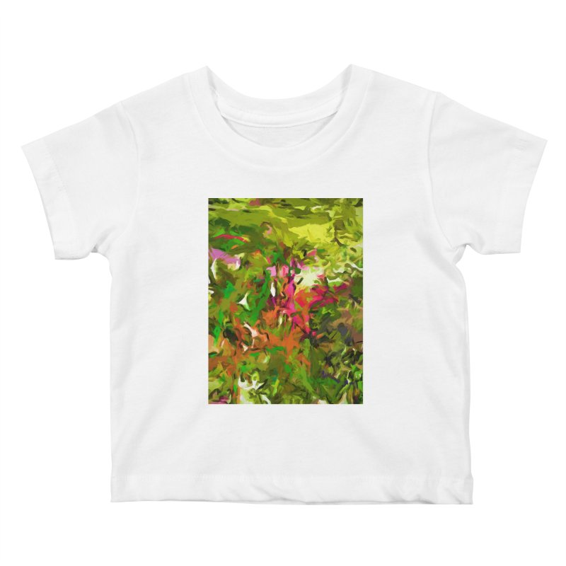 The Rosebud Kids Baby T-Shirt by jackievano's Artist Shop