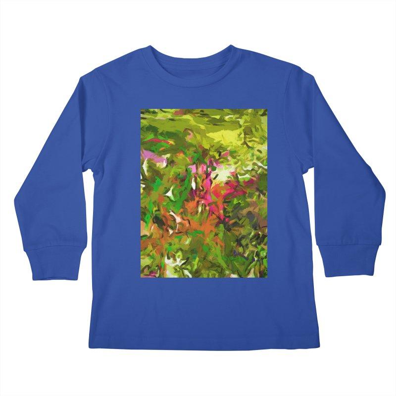 The Rosebud Kids Longsleeve T-Shirt by jackievano's Artist Shop