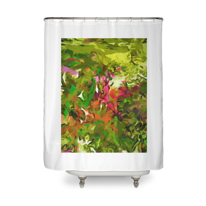 The Rosebud Home Shower Curtain by jackievano's Artist Shop