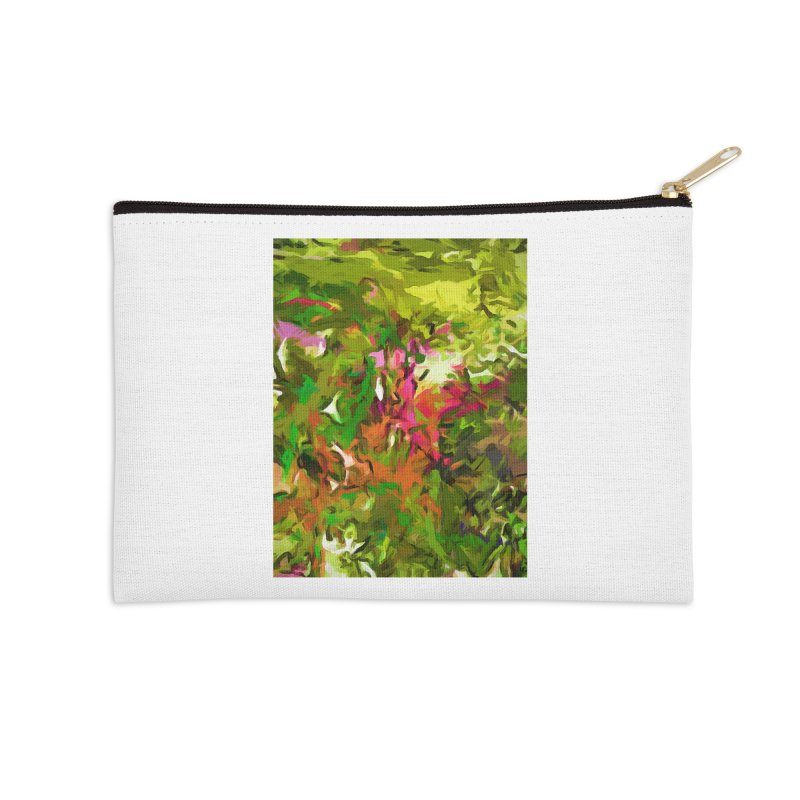 The Rosebud Accessories Zip Pouch by jackievano's Artist Shop