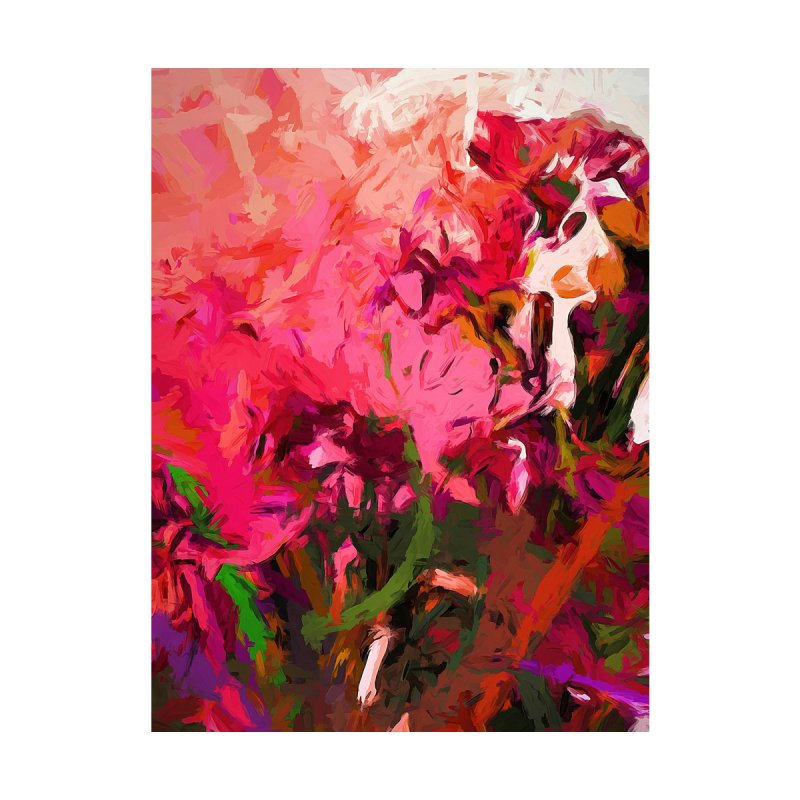 Flower Flames Soul Pink by jackievano's Artist Shop
