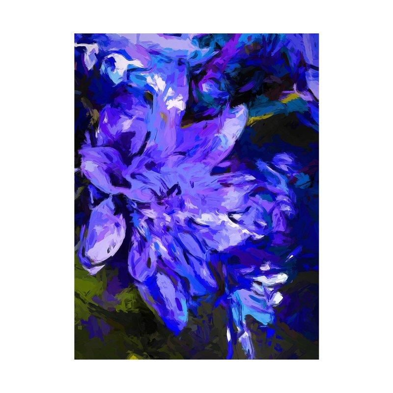 Flower Lavender Lilac Cobalt Blue by jackievano's Artist Shop