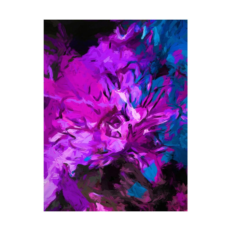 Flower Lavender Lilac Glory Blue by jackievano's Artist Shop