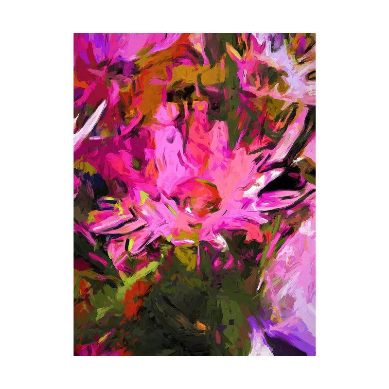 Daisy Rhapsody Petal Lolly Pink by jackievano's Artist Shop