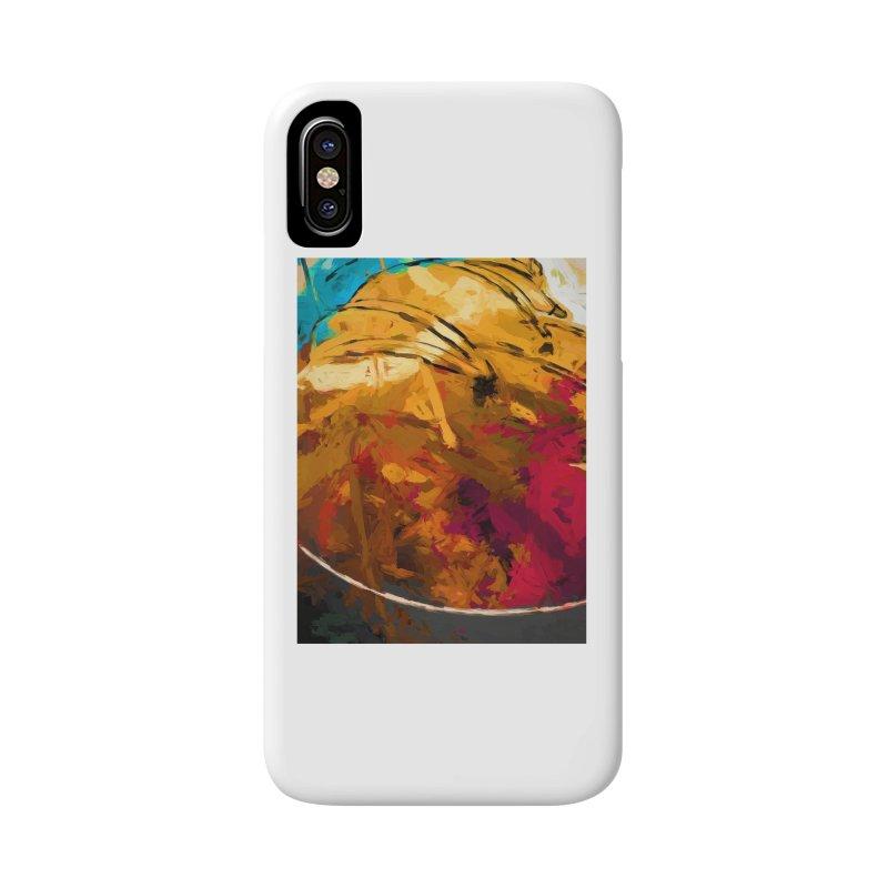 Banana Apple Orange Rainbow Spatter Accessories Phone Case by jackievano's Artist Shop