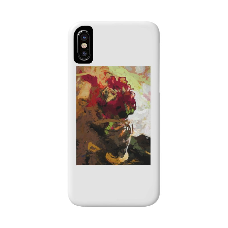 Rose Cathartica Graffiti Vase Flower Maelstrom Accessories Phone Case by jackievano's Artist Shop